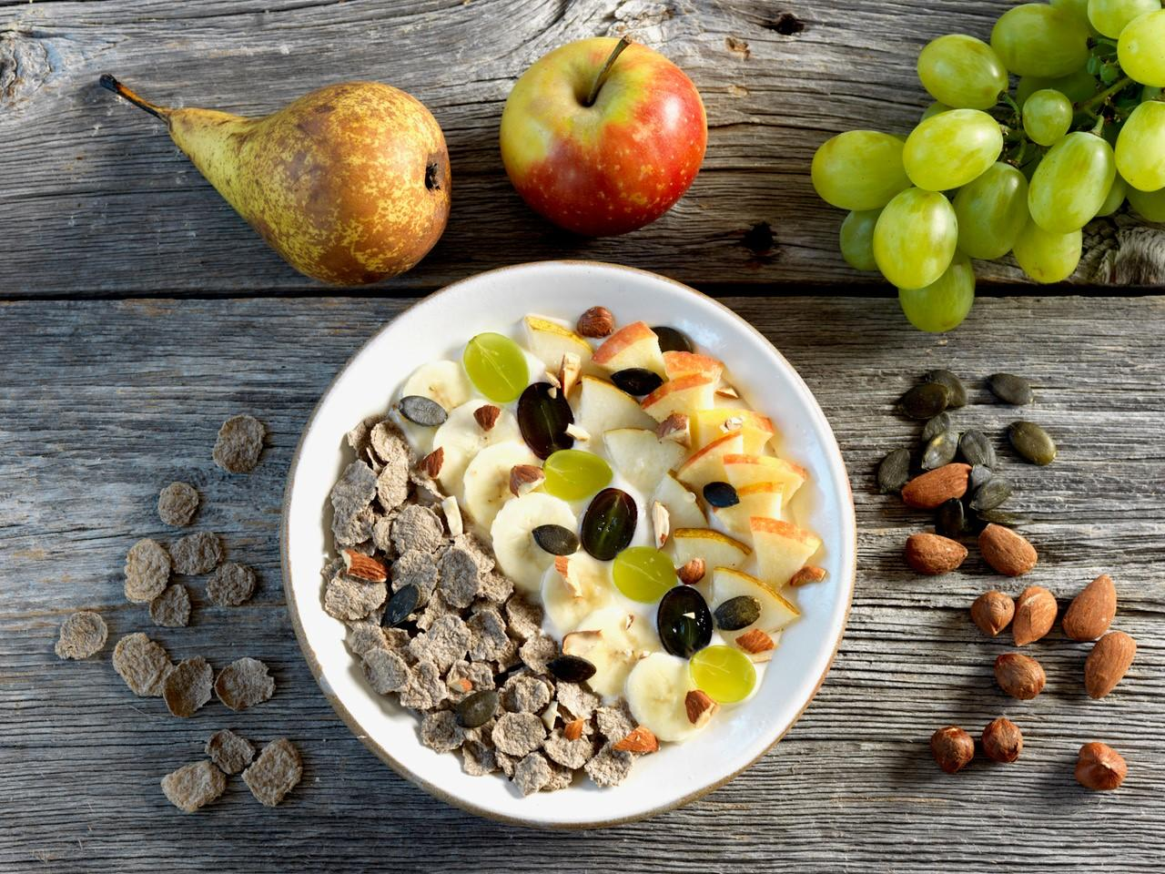 Buddha bowl flakes de sarrasin aux fruits frais